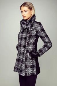 מעיל שחור לבן